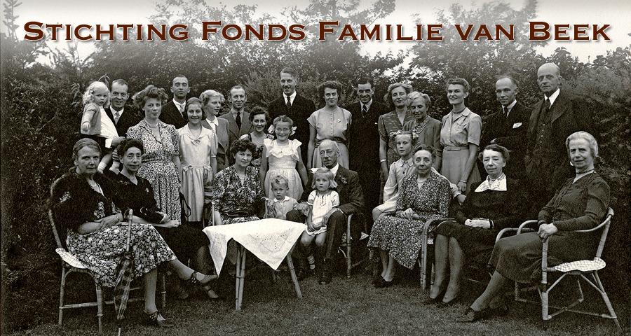 Stichting Fonds Familie van Beek cover